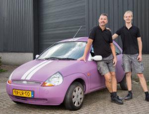 Krassen en roest verwijderen uit autolak - Laat het doen door Kras-Roest-Verwijderen.nl