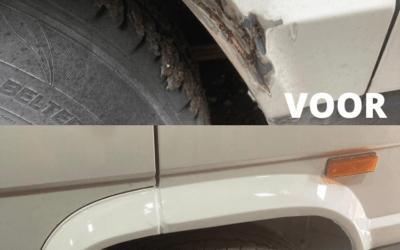 Top 5 veel voorkomende lakschade in auto's